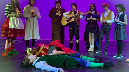 St Christopher School, Letchworth, performing Romeo & Juliet, the Musical. They were winners of the