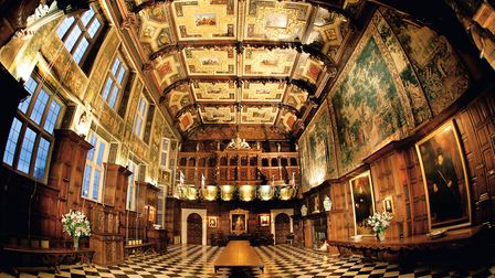 Marble Hall at Hatfield House