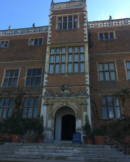 Hatfield House features in the trailer for forthcoming Netflix series Bridgerton. Picture: Alan Davi