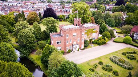 Hertford Castle will be hosting a Christmas Trail in December. Picture: Black Kite Productions