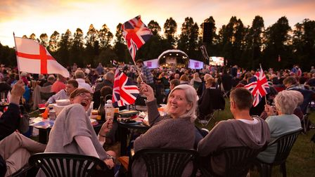 Evening picnic at Battle Proms in Hatfield. Picture: Tammy Marlar