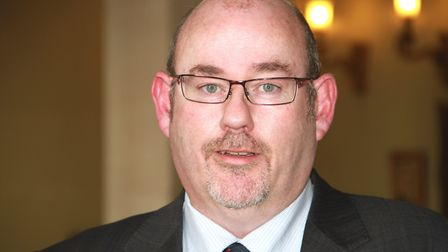 Jim McManus, Hertfordshire's director of public health, is urging people to shop safely in the run u