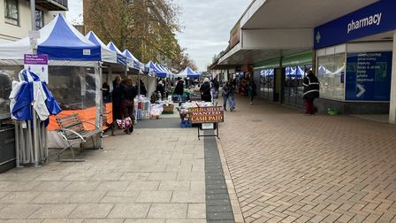 Hatfield Town Centre has reopened four weeks after lockdown. Picture: Charlotte McLaughlin