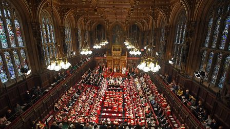 The House of Lords at the Palace of Westminster in London. Photograph: Victoria Jones/PA.
