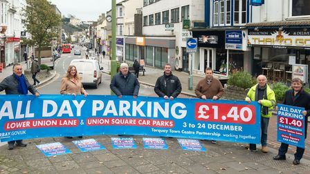 Council and business leader takes the wraps off the Christmas parking present