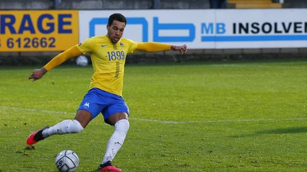 Ben Wynter of Torquay United during the National League match between Torquay United and Boreham Woo