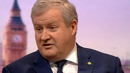 SNP Westminster leader Ian Blackford speaking on the BBC's Andrew Marr Show (Pic: BBC)