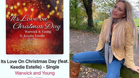 Keedie Estelle and her new Christmas song