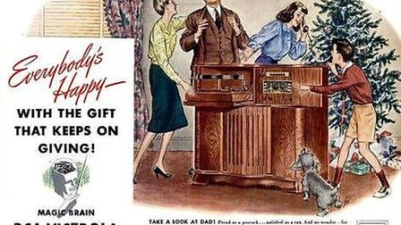 Victor Talking Machine Company 'The Gift That Keeps on Giving'