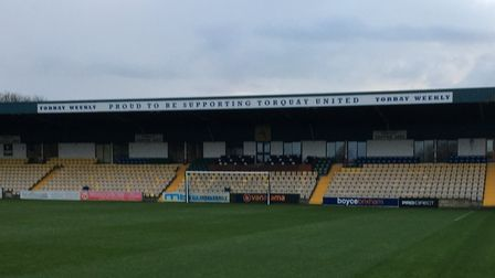 Plainmoor's Torbay Weekly Stand