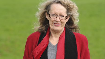 Cllr Carole Jones, Planning portfolio-holder, wants Ipswich be a healthy town, a green town and a wi
