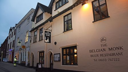 The Belgian Monk on Pottergate in Norwich. Picture: Danielle Booden
