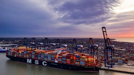 The Port of Felixstowe has been experiencing congestion during the Christmas and Brexit transition period