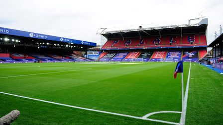 General view before the Premier League match between Crystal Palace and Everton, at Selhurst Park, C