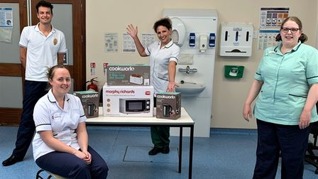 The trauma and orthopaedics therapy team at ESNEFT