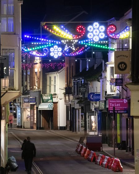 Sidmouth late night shopping 2020. Picture: Alex Walton