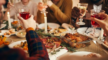 Christmas dinner at home Picture: Getty Images