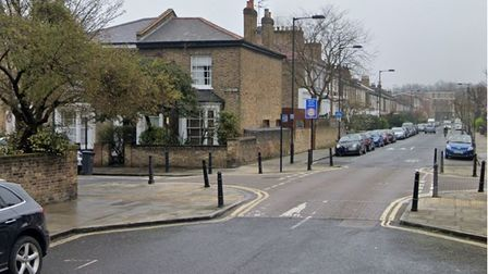 Middleton Road in Dalston