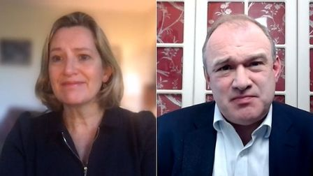 Amber Rudd appeared on Politics Live with Ed Davey