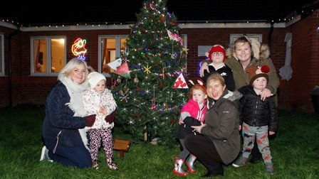Children and teachers from North Denes Primary School's nursery at Claremont House and Lodge in Caister.