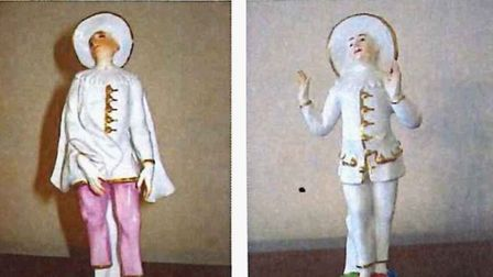 Police appeal for help finding two figurines stolen in Sidmouth.