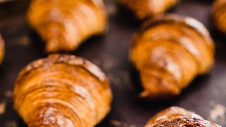 Perfect with your morning coffee - ultimate croissants at Triangle Bakehouse in Ripponden