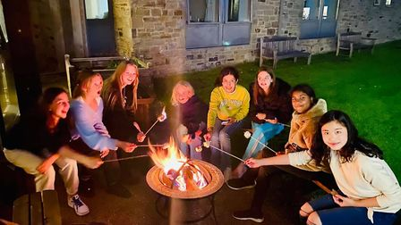 Students form lasting friendships at Ampleforth. Picture: Ampleforth College