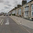 The vehicle was stolen from Marine Parade in Lowestoft.