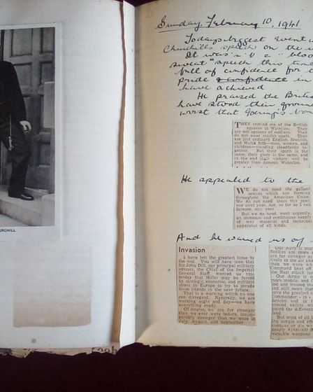 Extracts from the wartime diary of Herts Ad reporterKathleen Gansert (Wilson).
