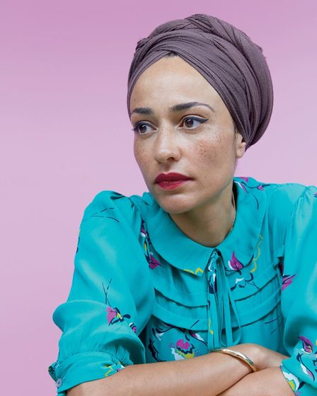 Zadie Smith. Picture: Brent Council
