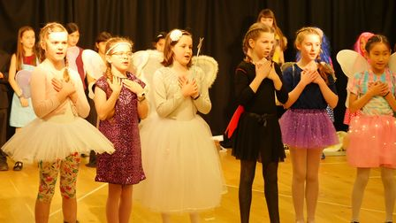 Primary forms five and six: Cinderella and Rockerfella.