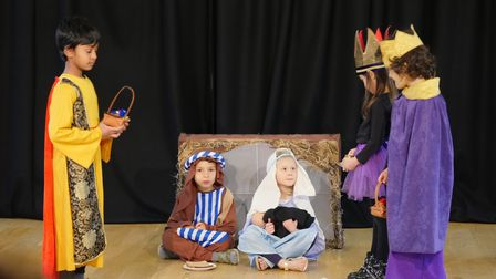 Primary forms one and two: The Nativity.