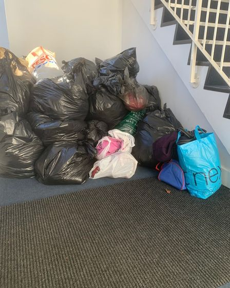 Donations from the community to Age UKHertfordshire after Ashley Court fire.
