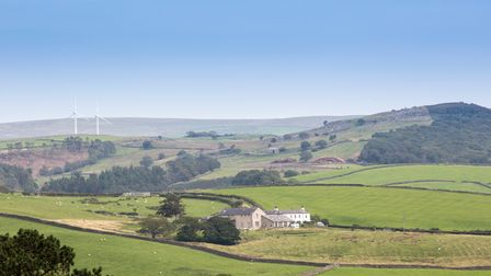 Looking into Littledale.