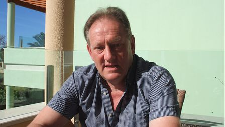Sunlit picture showing Ilfracombe music promoter Ray Williams