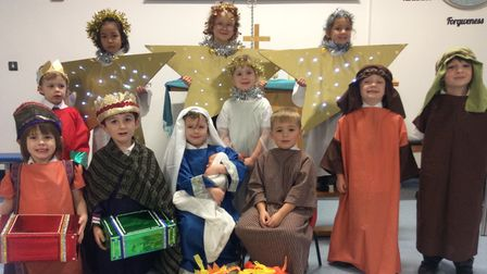 The nativity play at Our Lady of the Angels in Chelston