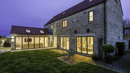 Enticing twilight shots can work well for many properties. Picture: Dales & Peaks