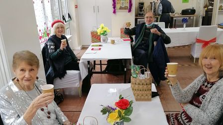 Highgate residents enjoying some Christmas celebrations