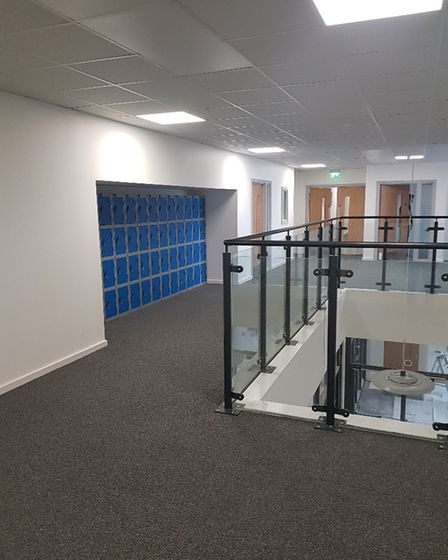 Inside Sidmouth College