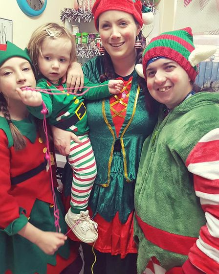 Elf help for Wisbech Lions this Christmas in the lead up to the big day