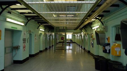 An interior view of Chelmsford Prison. Photograph: PA/Andrew Parsons.