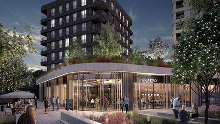 An artist's impression of a planned development at Northwick Park.