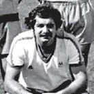 Willie Brown in his Torquay United playing strip