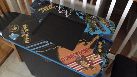 The table top arcade machine stolen in a burglary at Greenwood Drive in Westward Ho! Have you seen it, along with several...