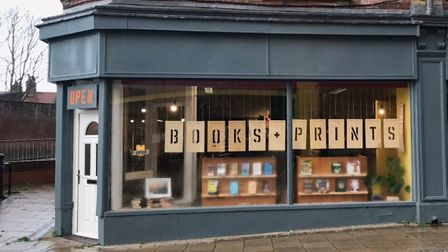 Books +Prints has opened on the historic Lowestoft High Street.