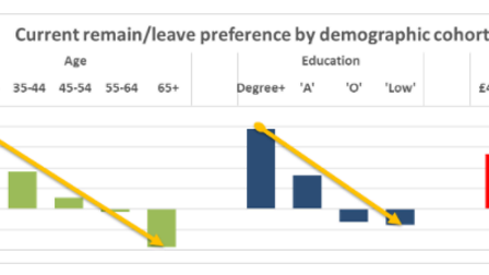 Polling on Remain and Leave