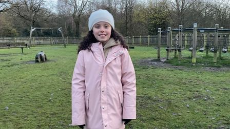 Olivia White has been fundraising by selling jam to improve the playground on the Heath extension