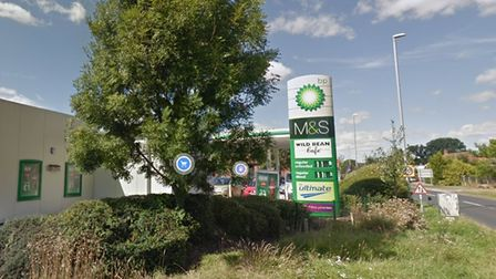 Acle BP petrol station