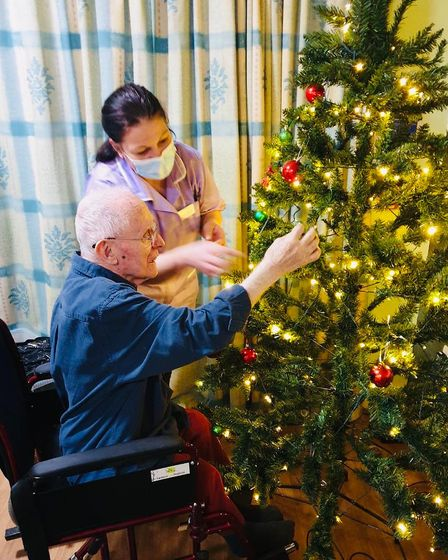 Gold Care Homes christmas