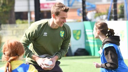 Christoph Zimmermann has spent plenty of time with Norwich City's community projects since arriving
